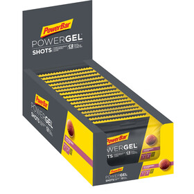 PowerBar PowerGel Shots Box 16x60g, Raspberry